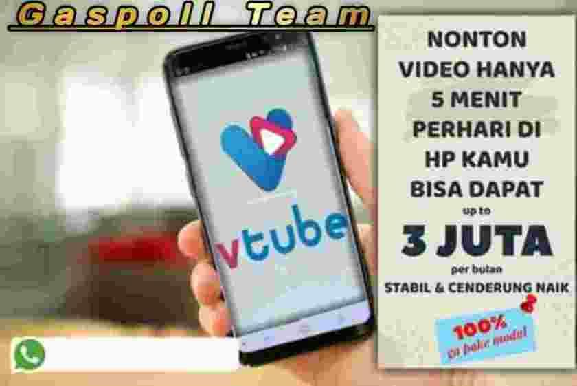 V Tube Aplikasi Penghasil Uang V Tube Nonton Iklan Dapet Duit In Bandar Lampung